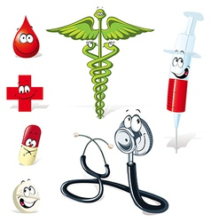 Medical symbols vector
