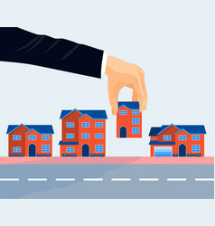 Real estate business promotional poster vector