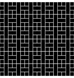 Seamless architectural background vector image