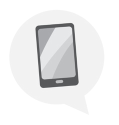 Tablet icon with isolated vector