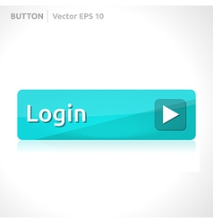 Login button template vector