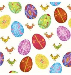 Eggs birds vector