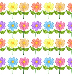 A floral seamless design vector