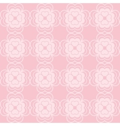 Pink geometric background patterns icon vector