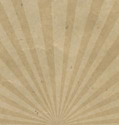 Vintage Sunburst Cardboard vector image vector image
