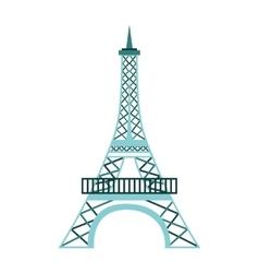 Tower eiffel france icon vector