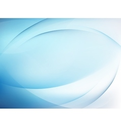 Abstract blue background with smooth lines EPS 10 vector image vector image