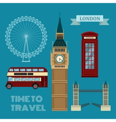 London symbols travel time set vector