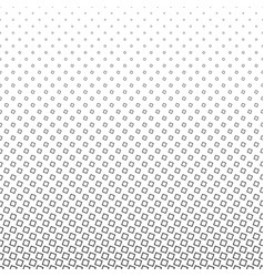 Monochrome square pattern - geometrical halftone vector