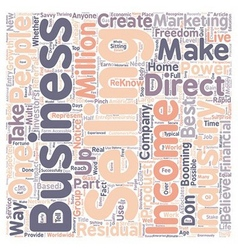 You Can Successfully Reach Financial Freedom With vector image vector image