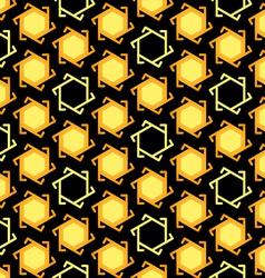 Seamless muslim pattern vector image