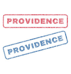 Providence textile stamps vector