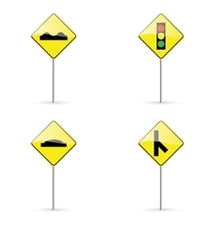 Traffic signals vector