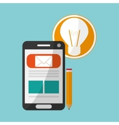 Digital marketing designcommunication and vector