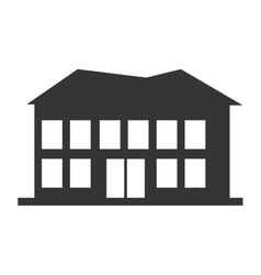 Real estate building vector