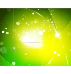 green energy background vector image vector image