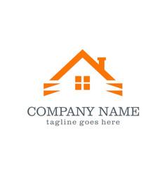 Home company logo vector