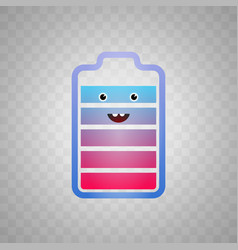 icon which shows a happy vector image vector image
