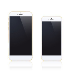 iphone 6 plus vector image vector image