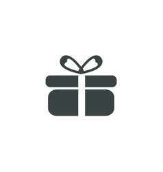 present icon simple vector image
