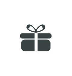 present icon simple vector image