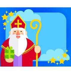 Sinterklaas flat design vector