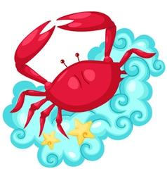 Zodiac signs -cancer vector