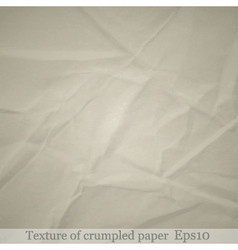 Crumpled paper background 1 vector