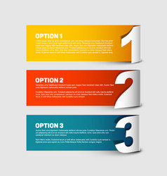 One two thre - progress background vector