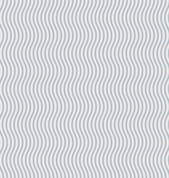 Wavy lines background vector image