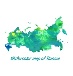 The contour map of the russian federation vector
