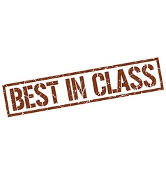 Best in class stamp vector