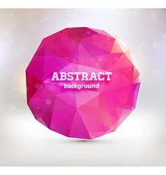 Abstract Triangular Design vector image vector image