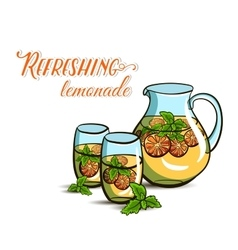 RefreshingLemonade vector image