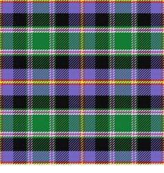 seamless pattern Scottish tartan Colorado vector image