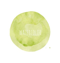 Watercolor blob vector