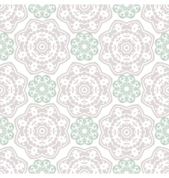 Seamless wallpaper Islamic motif background vector image