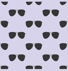 Aviator glasses seamless pattern vector