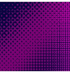 Cartoon halftone pattern vector