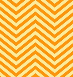 Background of Yellow and Orange V Shape Patterns vector image