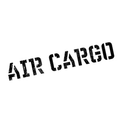 Air cargo rubber stamp vector