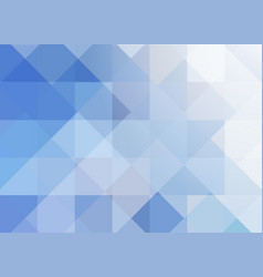 Blue geometric transparent background vector