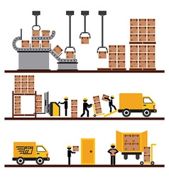 Transport of goods vector