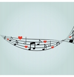 Music pattern design vector
