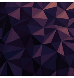 Triangular low poly dark blue pattern vector