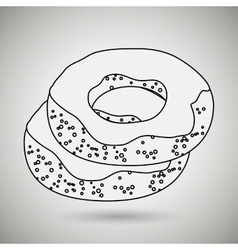 Bakery product design vector