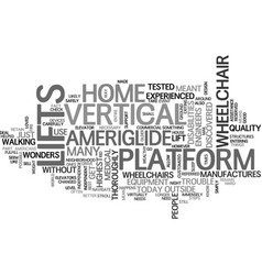 Americans with disabilities act text word cloud vector