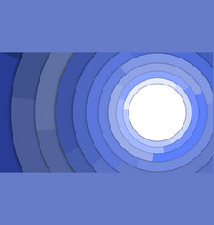 blue modern circles copy space abstract background vector image vector image