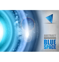 Blue Universe vector image vector image