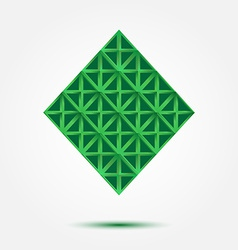 Business Technology abstract Rhombus Symbol - vector image